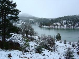Pantano nevado